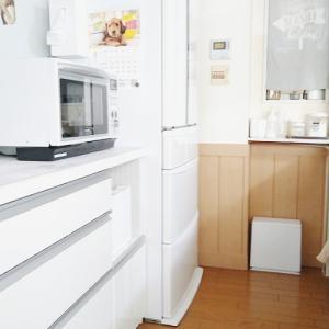 冷蔵庫の傷や汚れ防止◆セリアの食器団シートが優秀