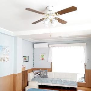 1階の空き部屋から移動◆シーリングファンで快適