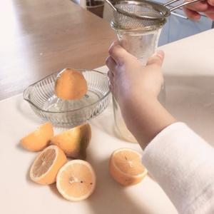健康で美肌に♡小5男子のかんたんレモネード