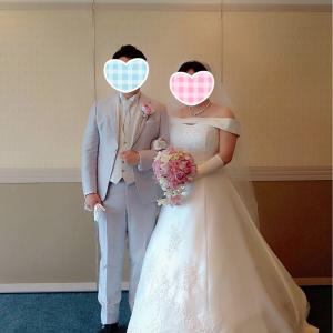 【ご成婚者様より】♡結婚式のご報告♡(20代女性会員様)