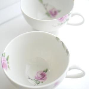 「好き」がいっぱい♡お花のスープカップ