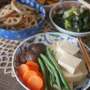 副菜いっぱいの食卓♪ 家族の健康のために