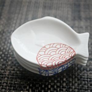 上絵付「お魚豆皿」完成です♪