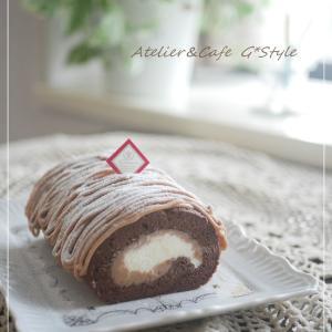 うっかり賞味期限切れにしてしまう買い置き食品 マロンロールケーキ♡