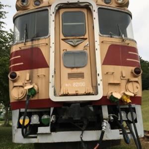 北海道 三笠市・クロフォード公園の保存特急車両 2019
