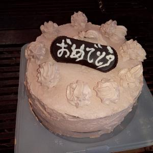 低糖チョコレートケーキ