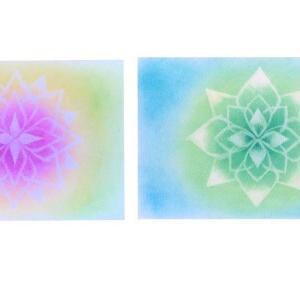 【募集】11/20 海南市 NUKUMORIホール しこねさんでパステル曼荼羅アート体験教室