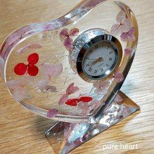 お引越し祝いに♡ インアリウムで飾り時計をつくりました(о´∀`о)