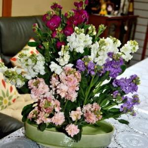 1月20日  御言葉をあなたへ  友達から花が送られた