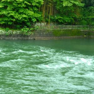 5月22日  御言葉をあなたへ  志津川の急流