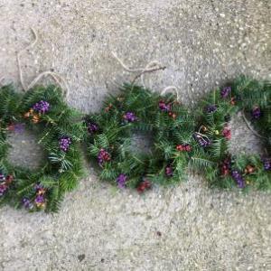 今年のクリスマスリース
