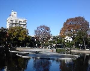 記憶の中の「魚がいっぱいいる公園」は、ここだった。
