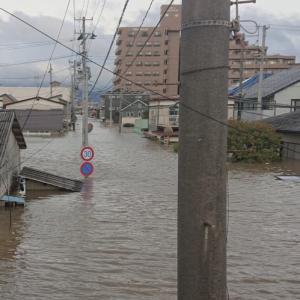 台風19号ハギビスの猛威