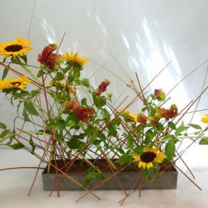絵画、映画からの印象 ひまわりの花