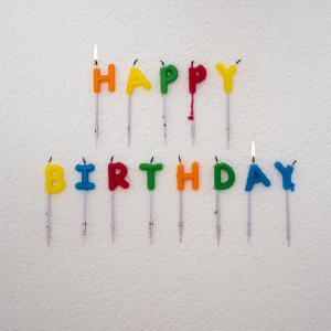 今日は、息子の誕生日 おめでとうーーー!25歳四半世紀、怪我もなく、健康に育ってくれました。