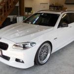 BMW5ツーリングのメンテナンスです!