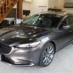 Mazda6のコーティングメンテナンスです。