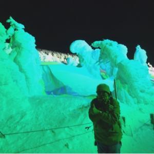 ライトアップは初めて!蔵王の樹氷を観てきたよ〜