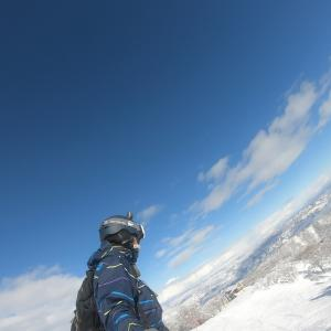 野沢温泉スキー場の山頂で観た絶景♪