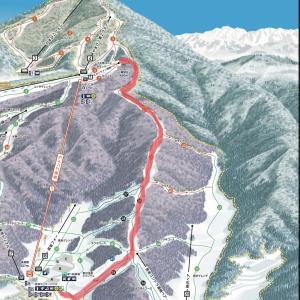 約3kmのダウンヒル!スカイラインコースを滑って思ったこと♪(野沢温泉:DAY6)