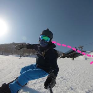 我流スノーボードで、ある疑問が解けた日♪DAY10木島平