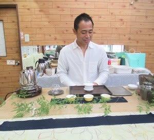 後藤暢さんの中国茶