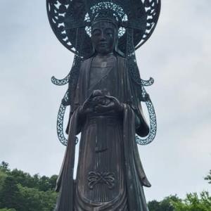 法隆寺 1400年 旭川の神居古潭 夢殿観音