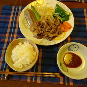 蒸し暑い日の簡単ご飯