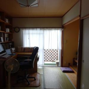 夫の仕事部屋