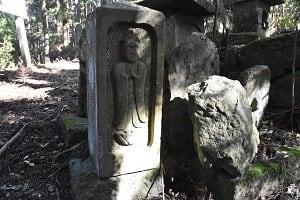 石仏883醍醐山(山梨)聖観音菩薩