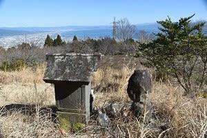 石仏899金丸山(静岡)秋葉山大権現、高遠石工