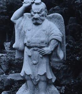 伊藤介二石仏写真館(4)天狗
