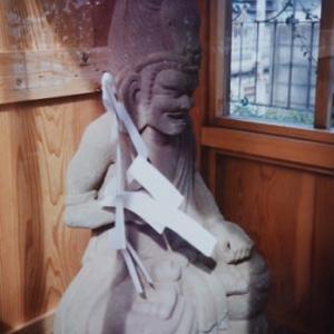 伊藤介二・昭和の石仏写真館(51)牛頭天王