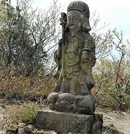 石仏991五頭山(新潟県)毘沙門天