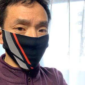サイクルジャージでマスク