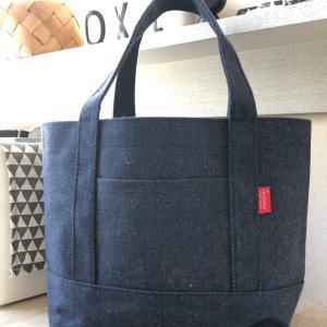 デイリーに使えるダイソー・デニム素材の200円のトートバッグ