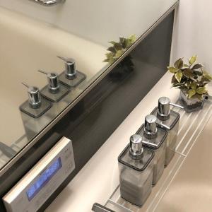 【ニトリ】壁にペッタン♪マグネット機能を活かしたボトル収納