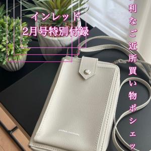 【雑誌付録】スマホと財布が一体型した便利な買い物ポシェット