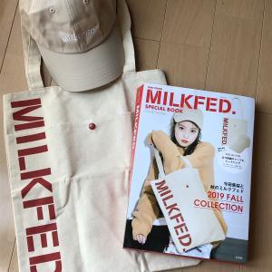 着画あり♪ミルクフェドの最新ムック本は年齢問わず被れそうなキャップとバッグがセットに