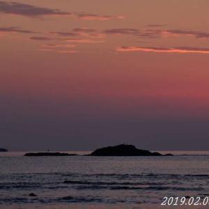 大砂海水浴場 2019.02.03