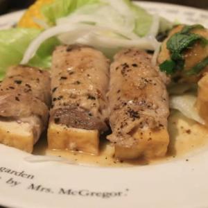 厚揚げの肉巻き☆セブンのお弁当ベスト3