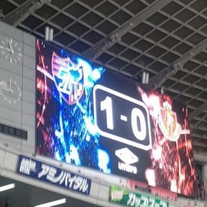 【速報】2020.8.15 J1第10節 FC東京 1-0 名古屋