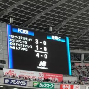 【速報】2021.9.18 J1第29節 FC東京 4-0 横浜FC