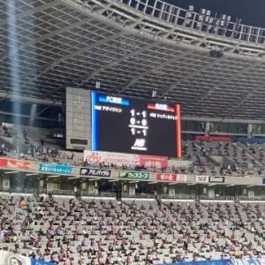 【速報】2021.9.22 J1第32節 FC東京 1-1 名古屋