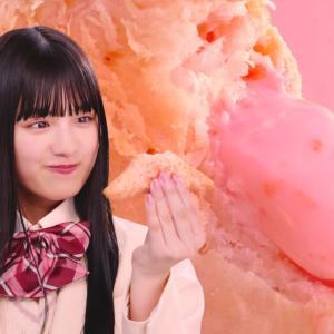 【キャプチャ19枚】 鶴嶋乃愛 マクドナルド 三角チョコパイ あまおう「全校放送」篇 TVCM