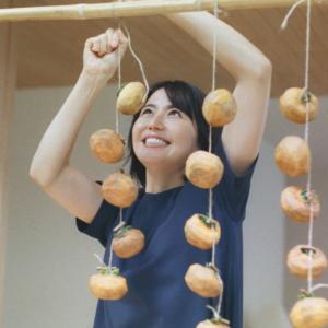 【キャプチャ9枚】 長澤まさみ  住友林業 「TREEing 干し柿 蕎麦打ち」 篇 TVCM