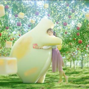 【キャプチャ18枚】 吉田友利恵  カバヤ  ピュアラルグミ TVCM