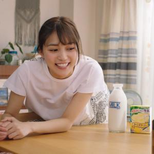 【キャプチャ20枚】 川口春奈  クノール  カップスープ 「冷たい牛乳でつくるカップスープ  夏の定番」編 TVCM