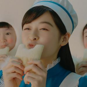 【キャプチャ20枚】 森七菜  フジパン スナックサンド 「スナックサンドのうた♪」篇 TVCM