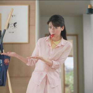 【キャプチャ15枚】 藤井美菜  ヤクルト「手洗い習慣」篇 TVCM